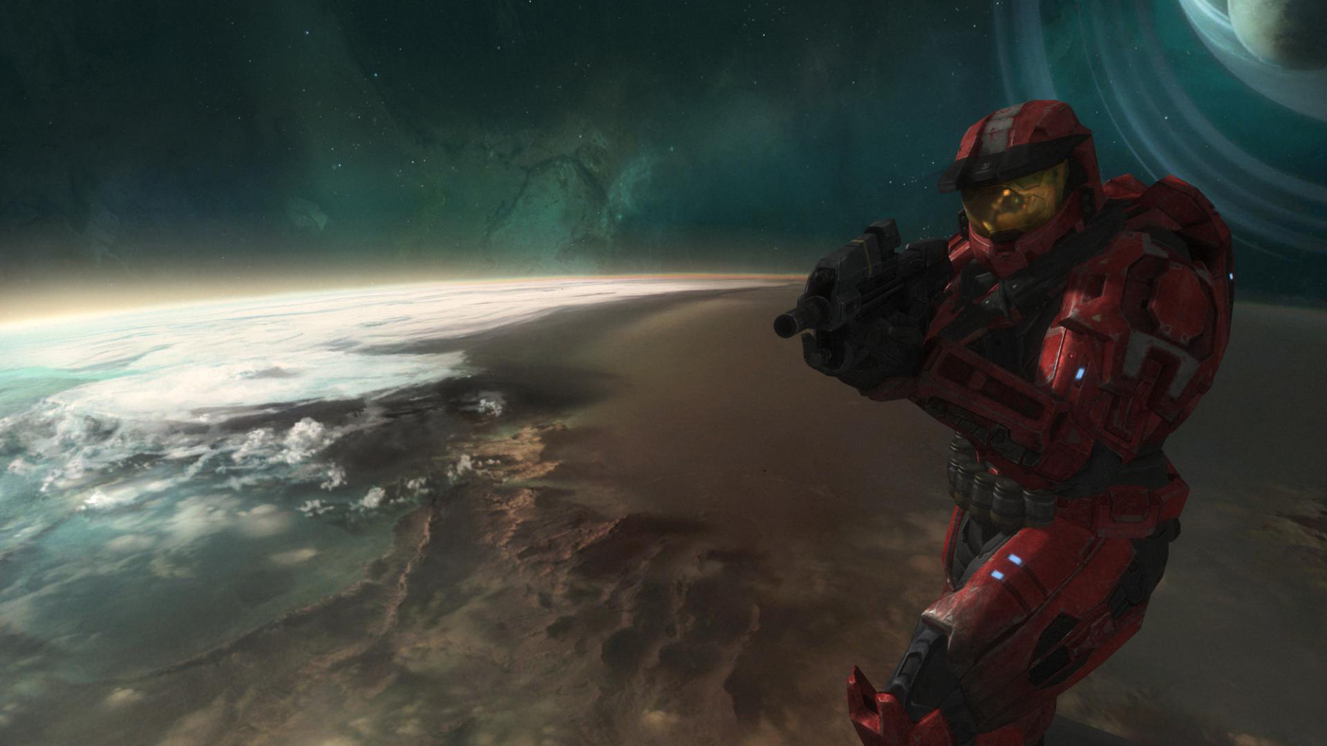 Halo Reach Space Screenshot