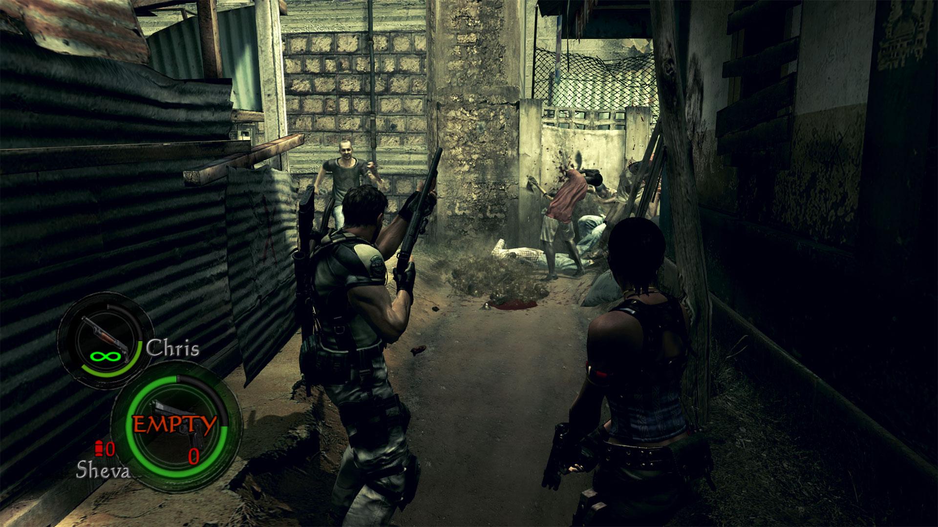 Resident Evil 5 Revisited Gamerheadquarters