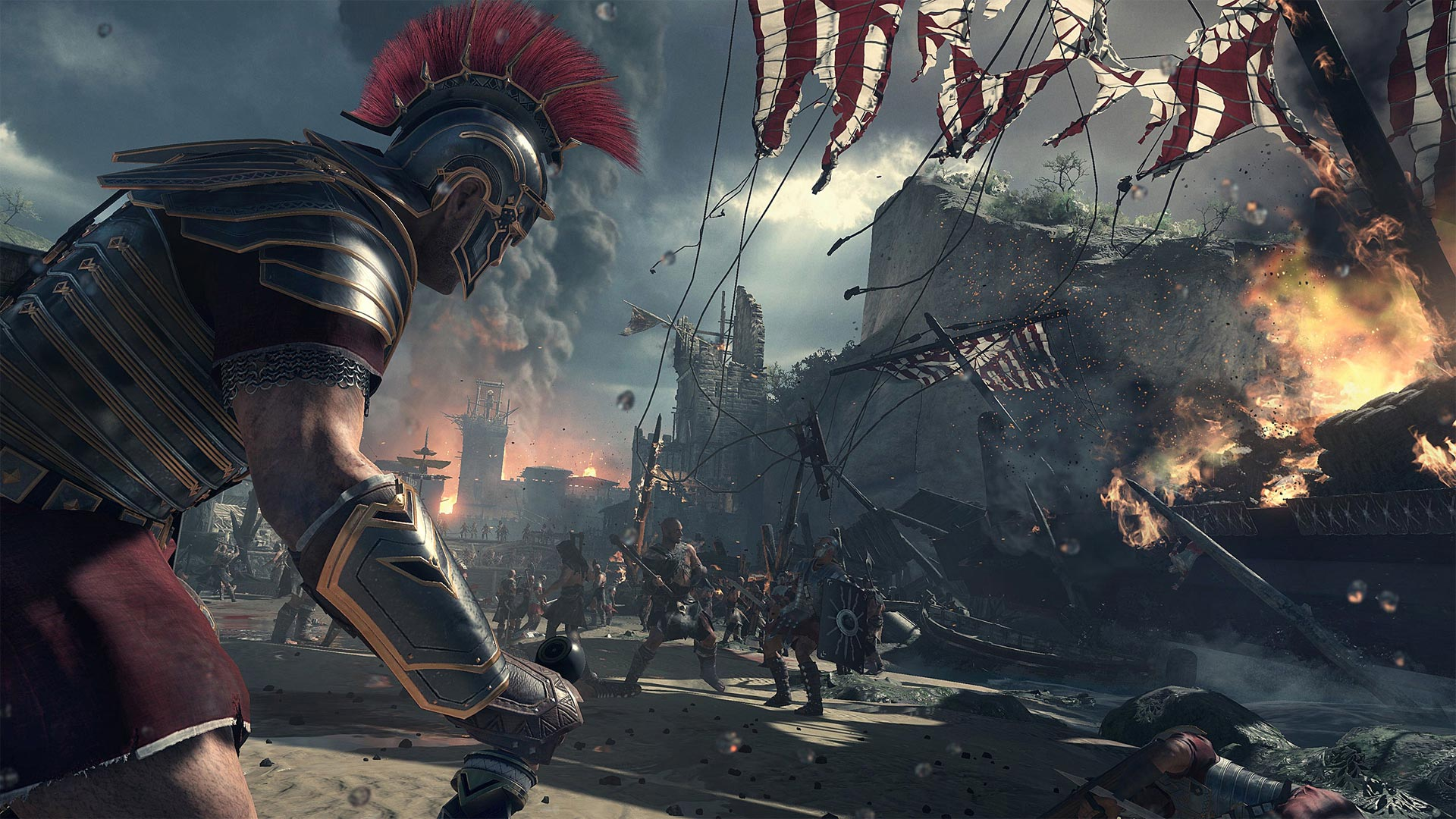 Ryse Xbox One Screenshot