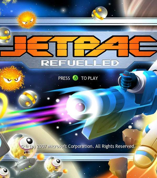 Jetpac Refuelled Box Art