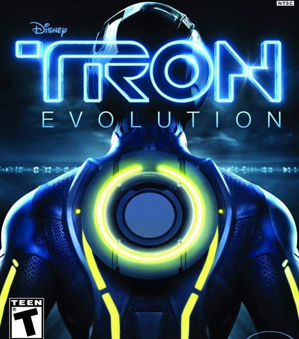 Tron Evolution Box Art