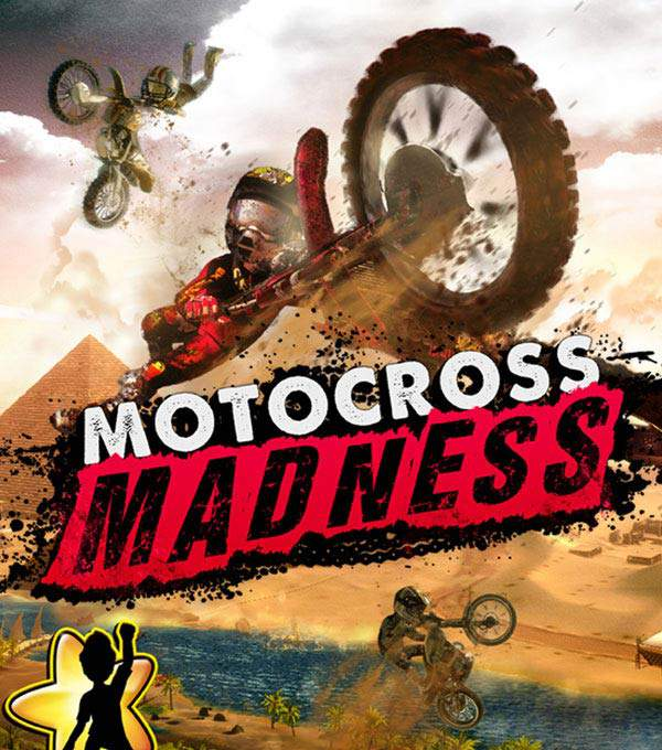 Motorcross Madness Box Art
