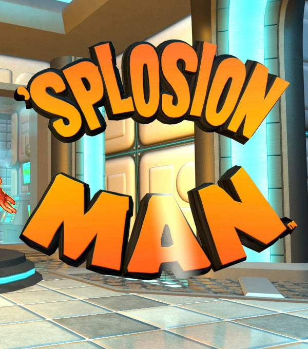 Splosion Man Box Art