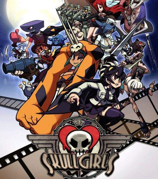 Skull Girls Box Art