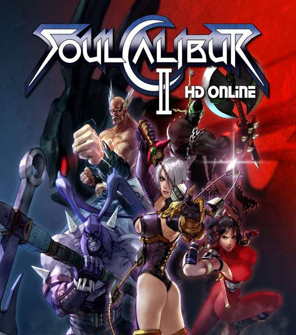 Soul Calibur 2 HD Online Box Art