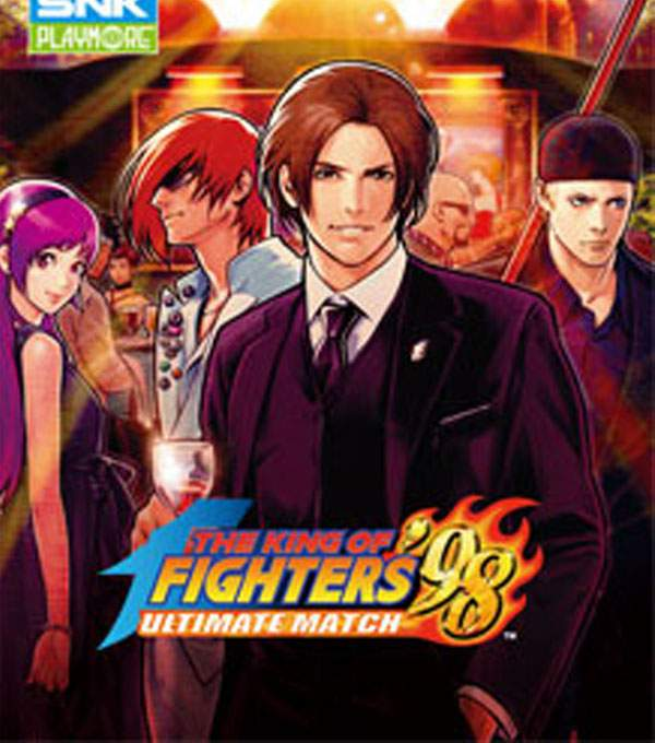 King of Fighters 98 Box Art