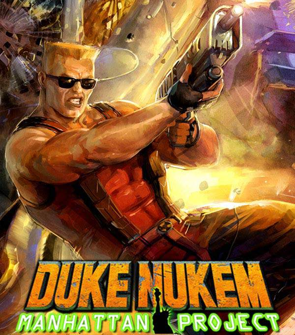Duke Nukem Manhattan Project Box Art