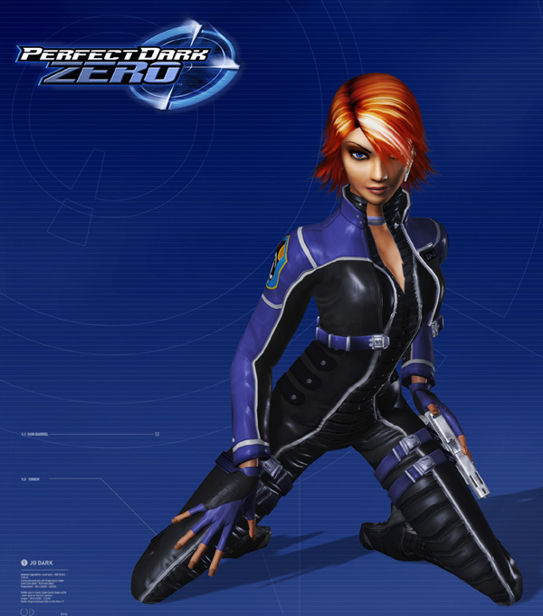 Perfect Dark Zero Box Art
