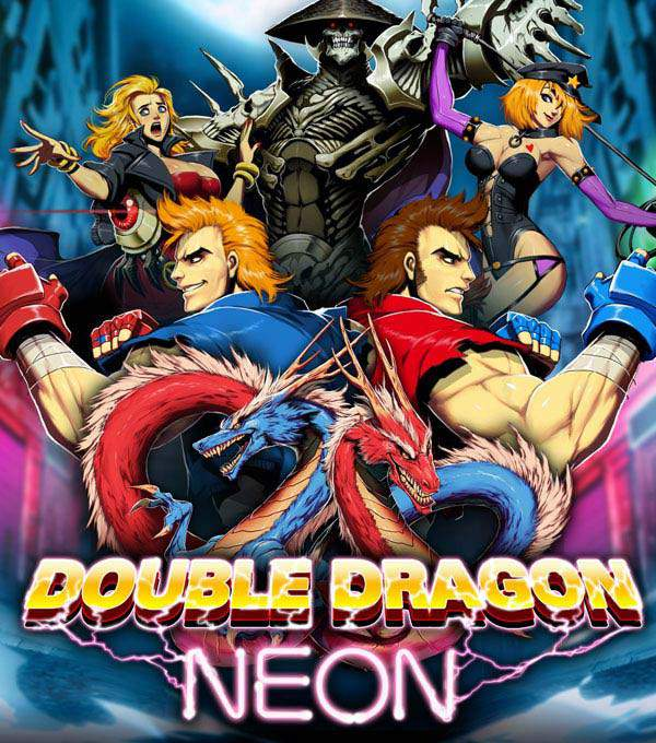 Double Dragon Neon Box Art