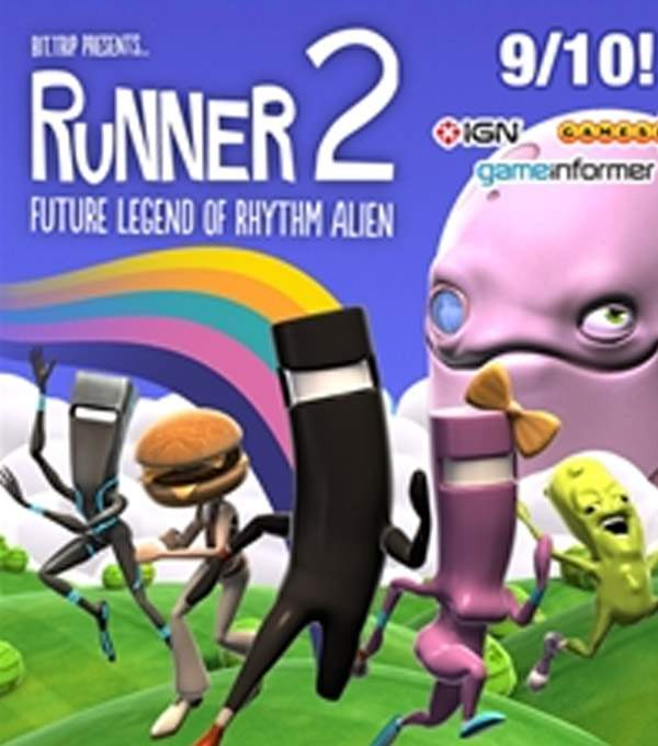 Runner 2 Box Art