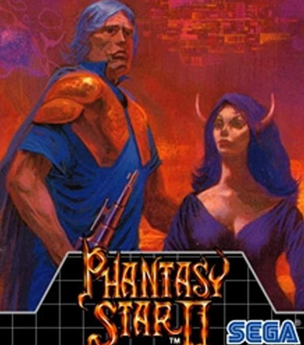 Phantasy Star II Box Art