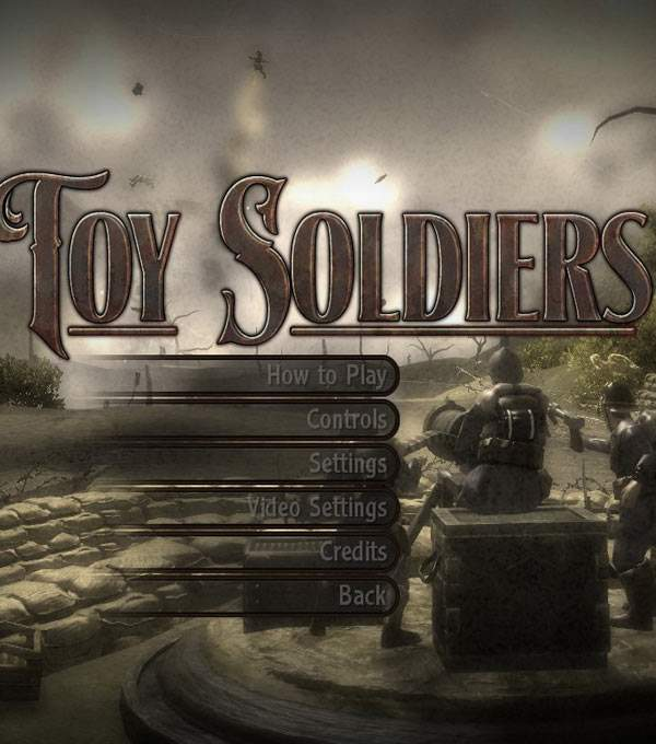 Toy Soldiers Box Art