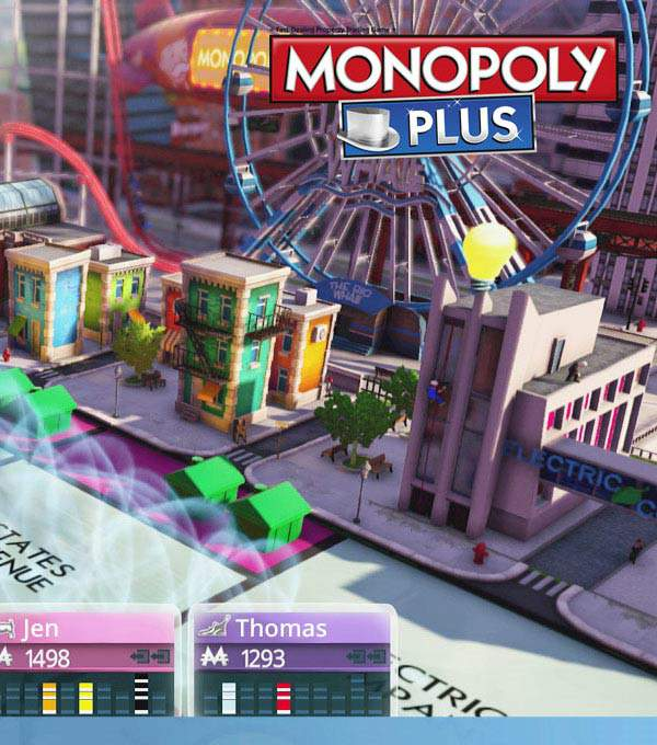 Monopoly Plus Box Art