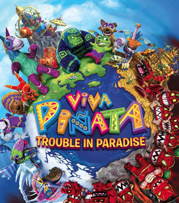 Viva Pinata: Trouble in Paradise Box Art