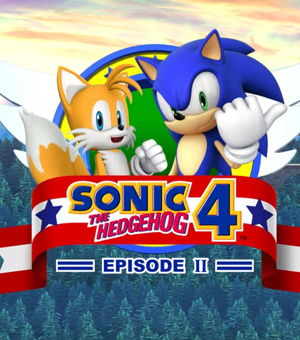 Sonic the Hedgehog 4: Episode 2 Box Art