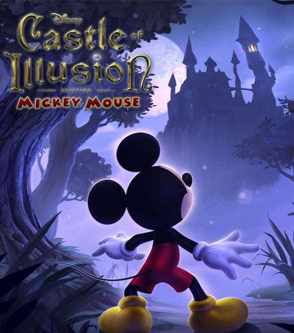 Castle of Illusion Box Art