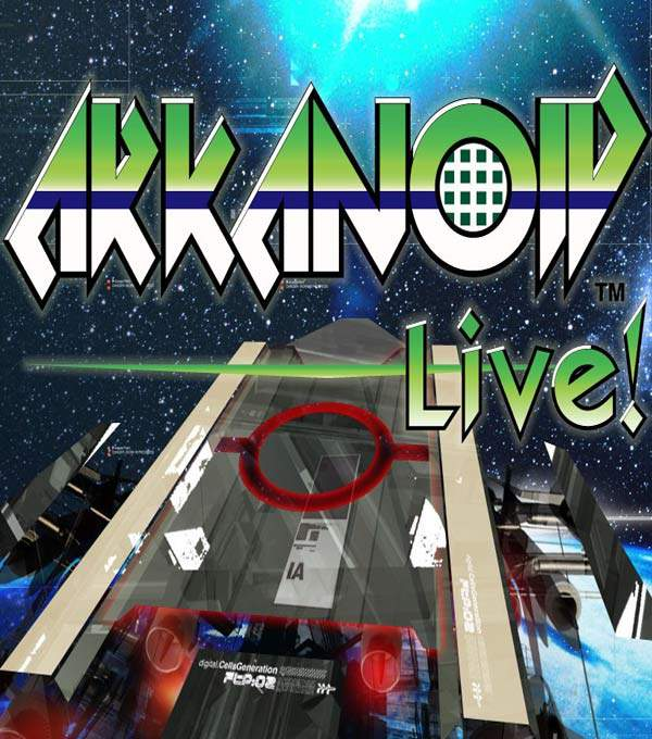 Arkanoid Live! Box Art