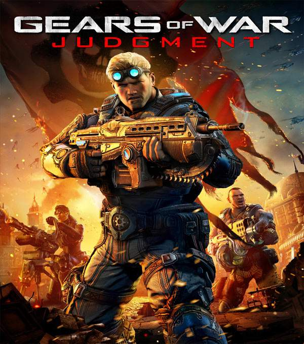 Gears of War Judgment Box Art