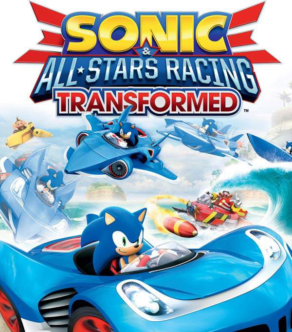 Sonic and All-Stars Racing Transformed Box Art