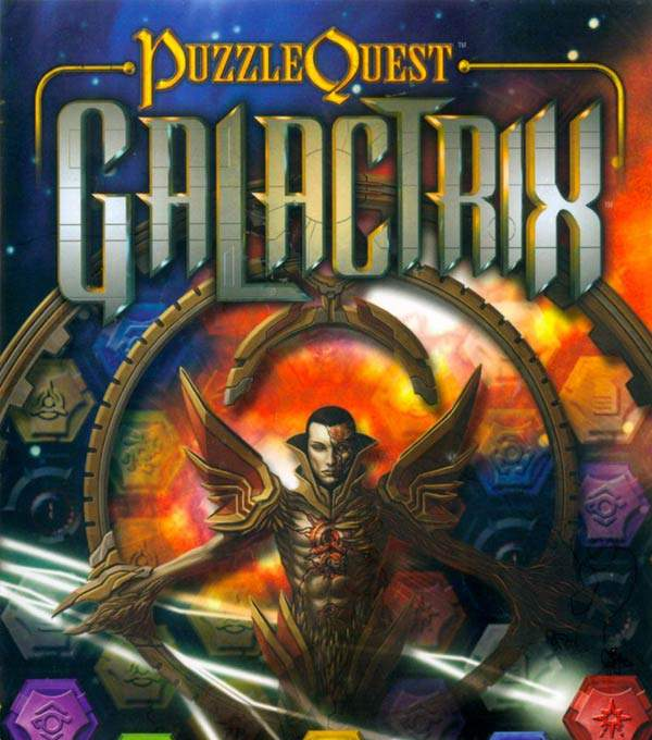 Puzzle Quest Galactrix Box Art