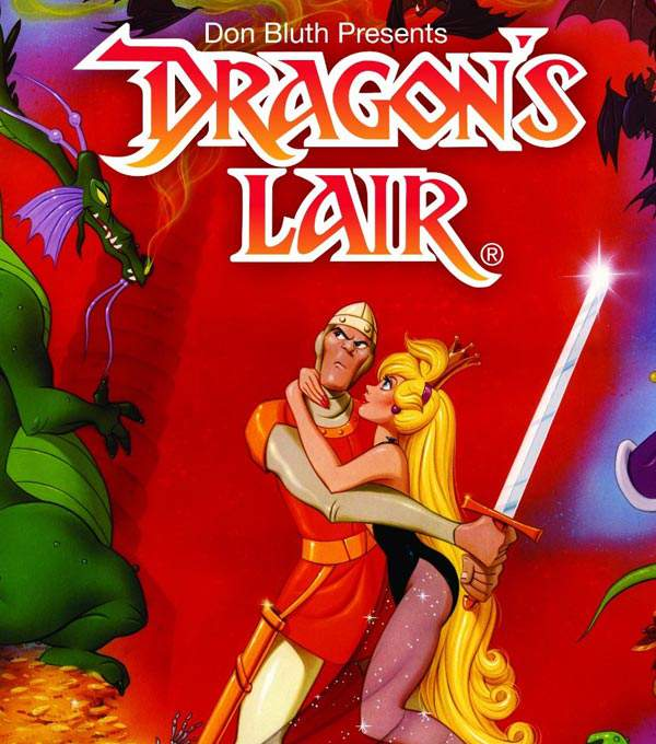 Dragon's Lair Box Art