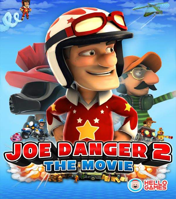 Joe Danger 2: The Movie Box Art