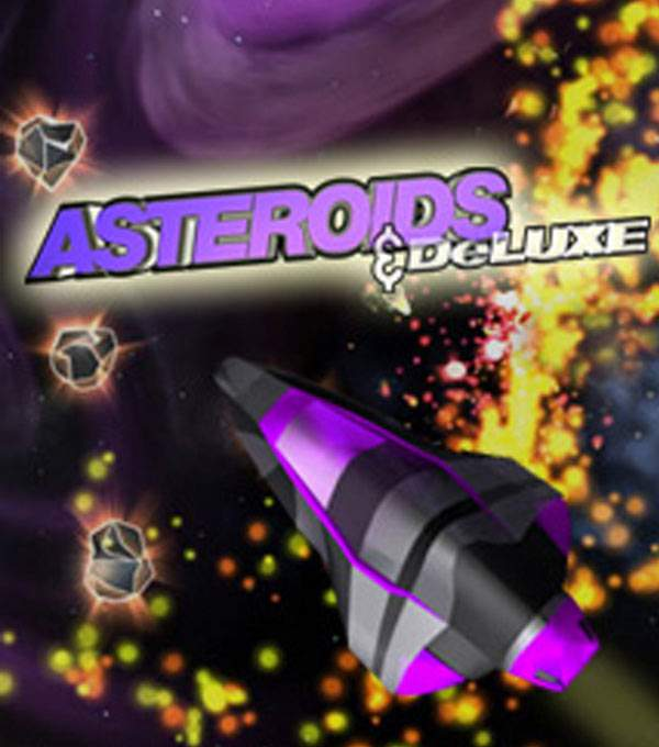 Asteroids & Delux Box Art