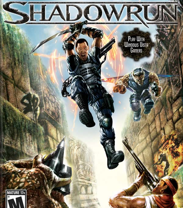 Shadowrun Box Art
