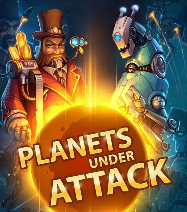 Planets Under Attack Box Art