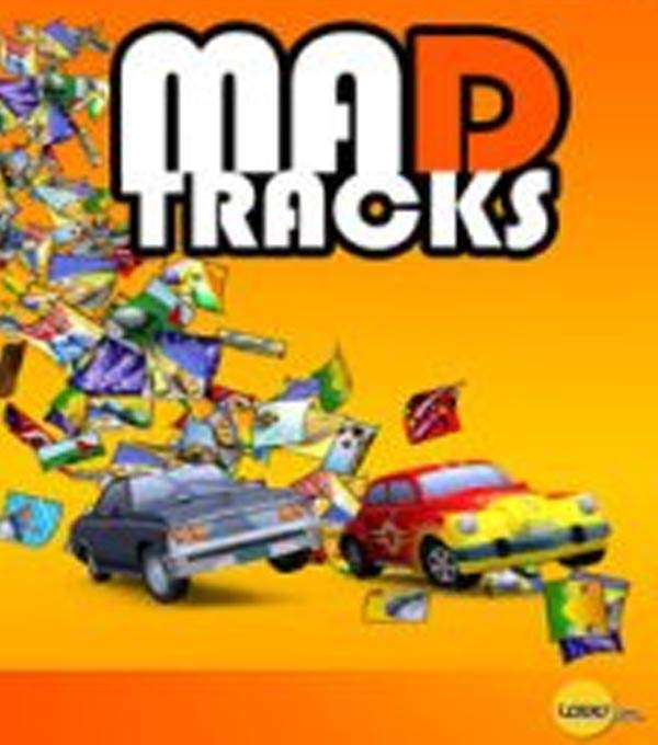 Mad Tracks Box Art