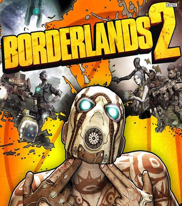 Borderlands 2 Box Art