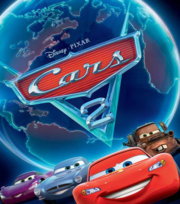 Cars 2: The Videogame Box Art