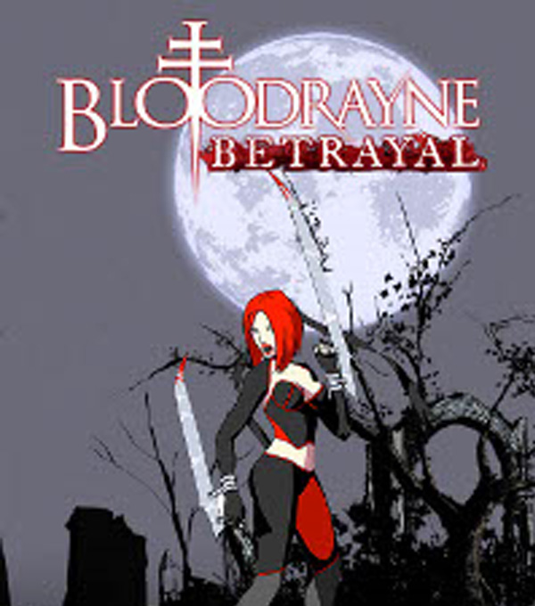 Bloodrayne Betrayal Box Art