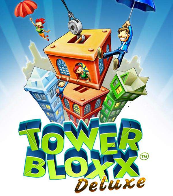 Tower Bloxx Deluxe Box Art