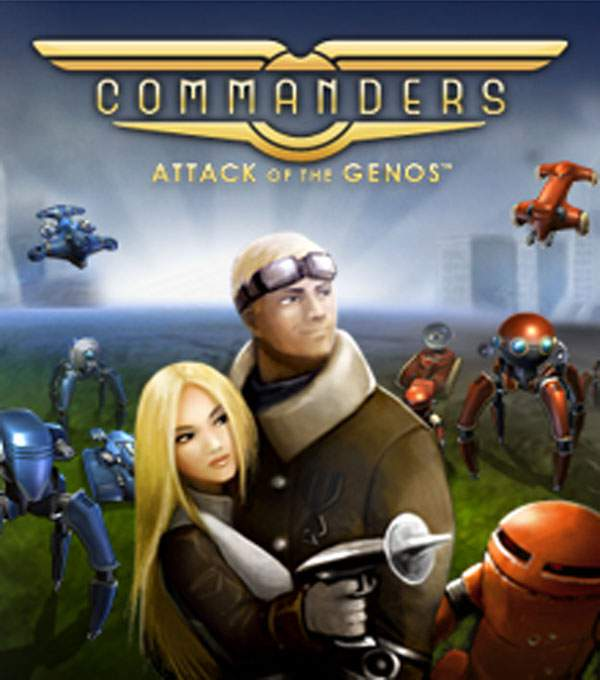 Commanders: Attack of the Genos Box Art