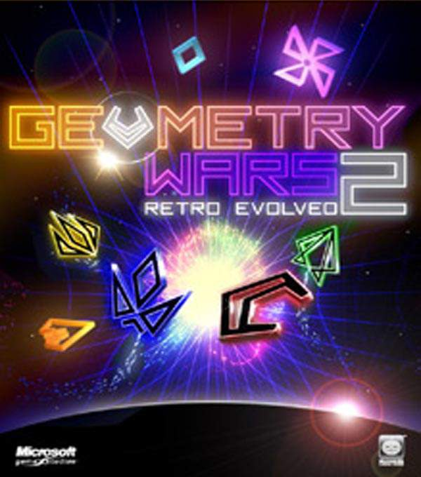 Geometry Wars: Retro Evolved 2 Box Art