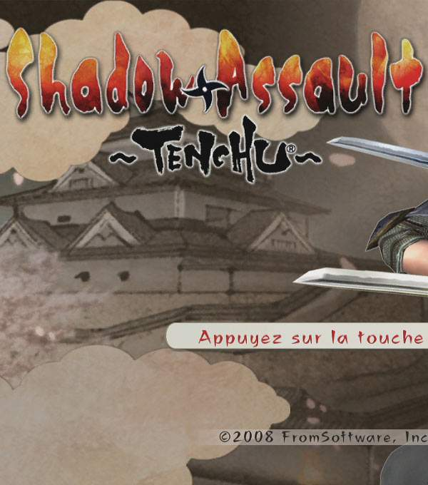 Shadow Assault Tenchu Box Art