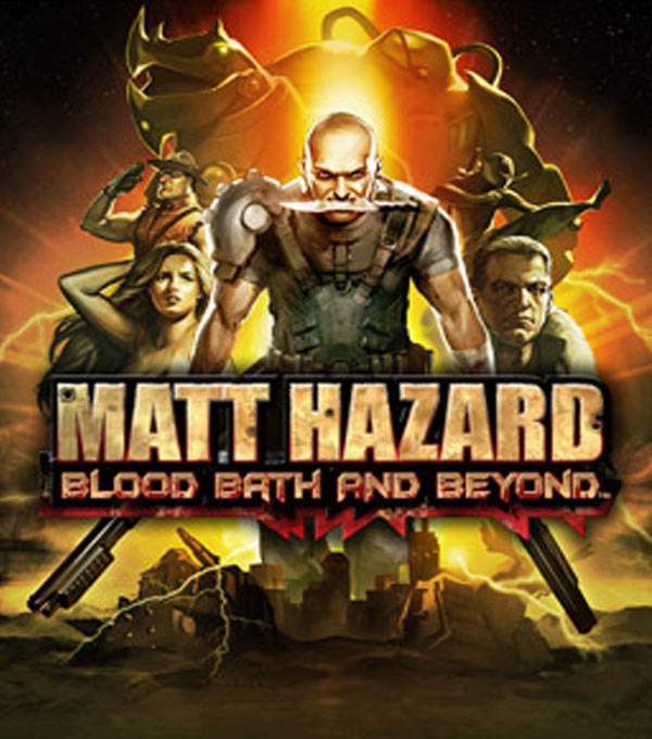 Matt Hazard: Blood Bath and Beyond Box Art