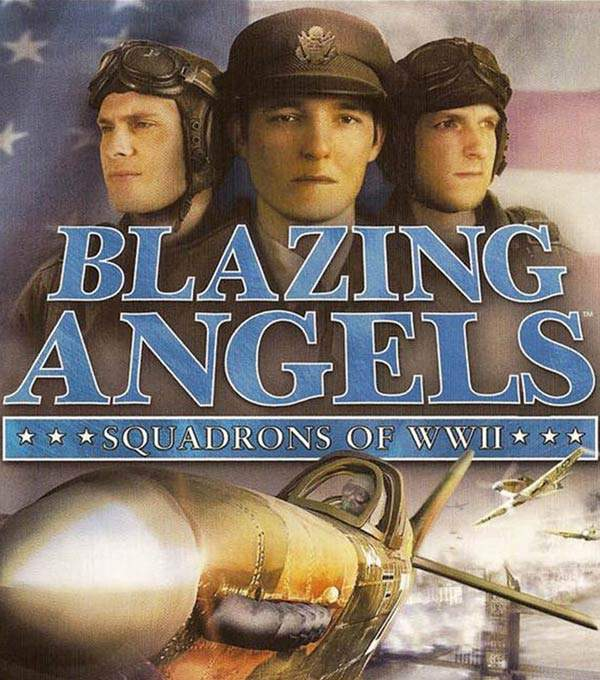 Blazing Angels Box Art