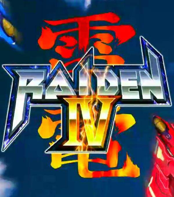 Raiden IV Box Art