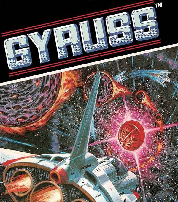 Gyruss Box Art