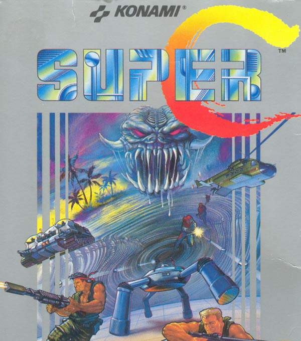 Super Contra Box Art
