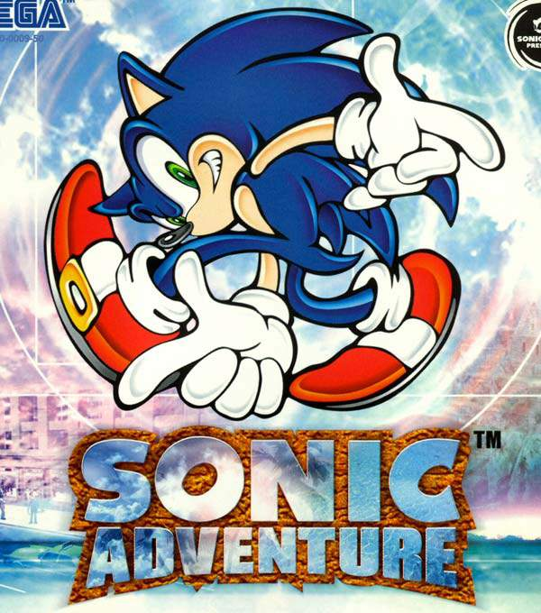 Sonic Adventure Box Art