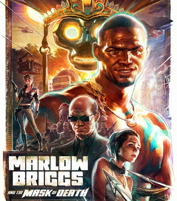 Marlow Briggs and the Mask of Death Box Art