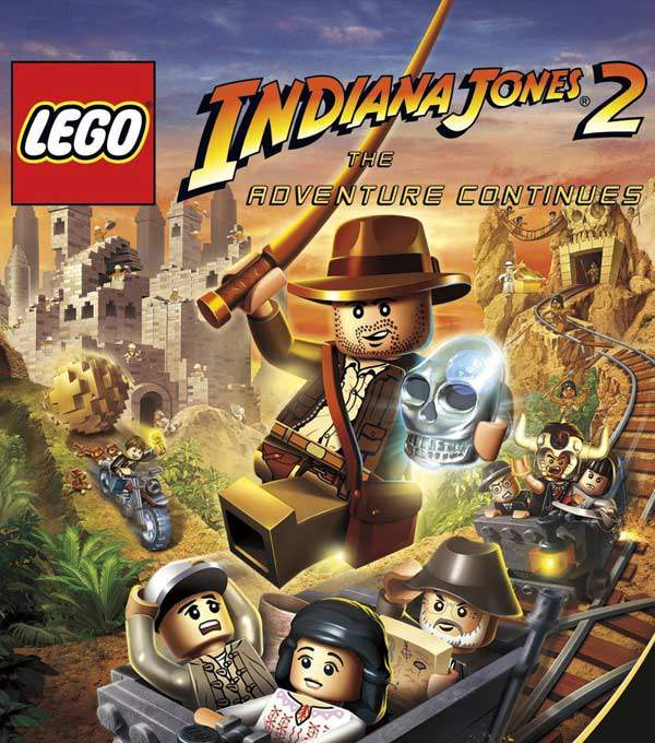 LEGO Indiana Jones 2 Box Art