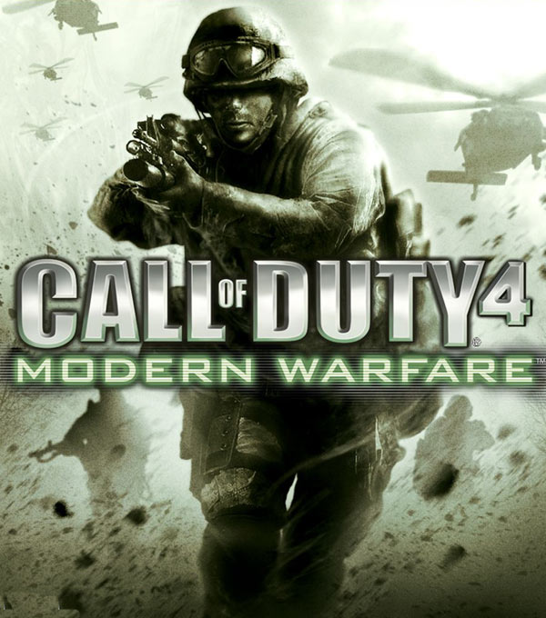 Call of Duty 4: Modern Warfare Box Art