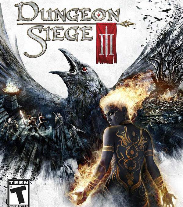 Dungeon Siege III Box Art