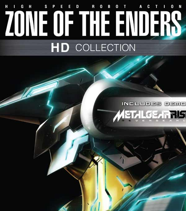 Zone of the Enders HD Box Art