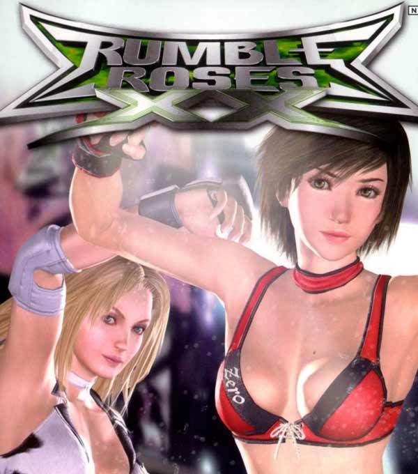 Rumble Roses XX Box Art