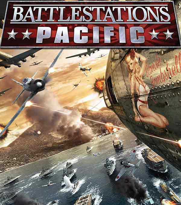 Battlestations Pacific Box Art